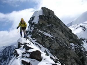 Beim Abstieg