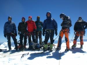 Am Gipfel des Huascaran Norte 6664m