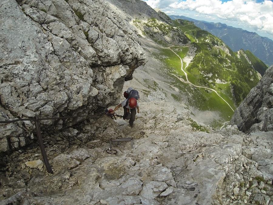 Klettersteigset Ausleihen Garmisch : Klettersteige um garmisch partenkirchen u eine kurze