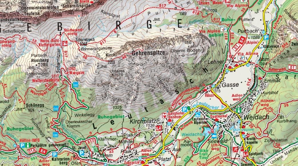 Gehrenspitze_Karte