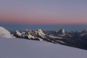 Morgenstimmung Dufourspitze