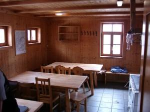 Aufenthaltsraum-Küche Winterraum