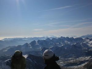 bester Rundumblick vom Gipfel